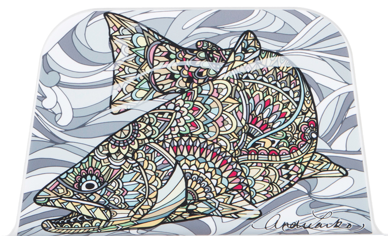 Larko Brown Trout Cushion and Wrap Combination - 35QT