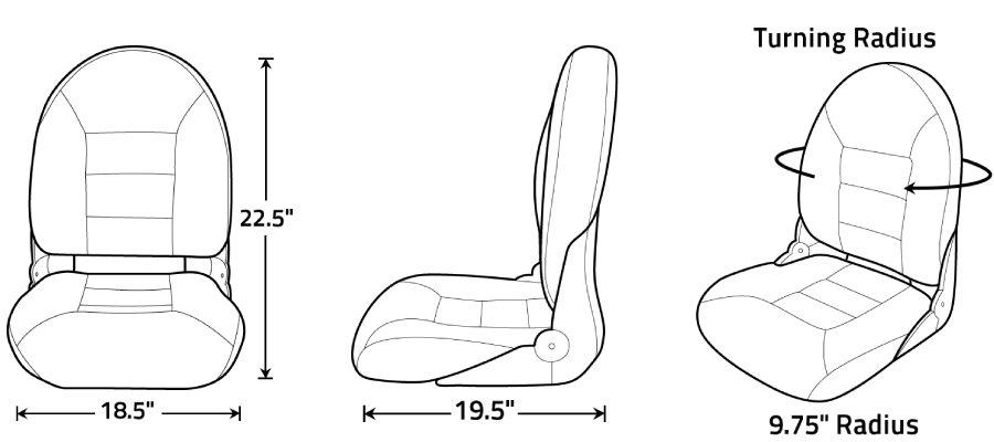 NaviStyle High-Back Seat