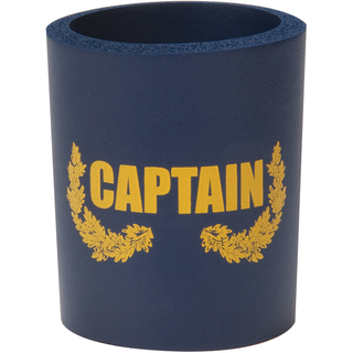 Can Cooler - Captain - Navy/Gold