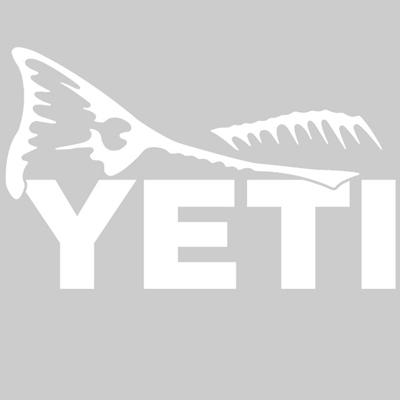 YETI Redfish Tail Window Decal