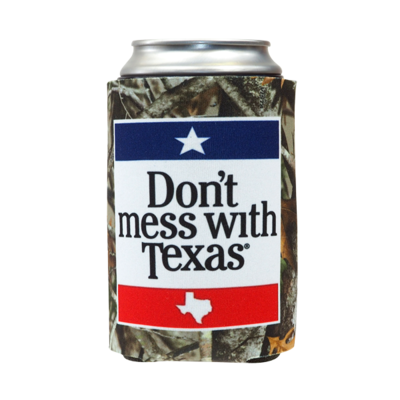Can Cooler - Don't Mess With Texas Camo