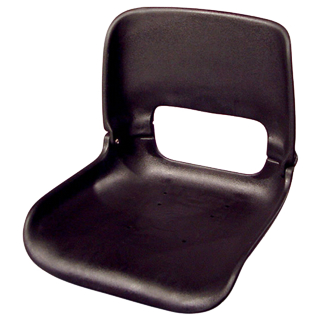 All-Weather Low-Back Seat Shell  w/ T-Nuts