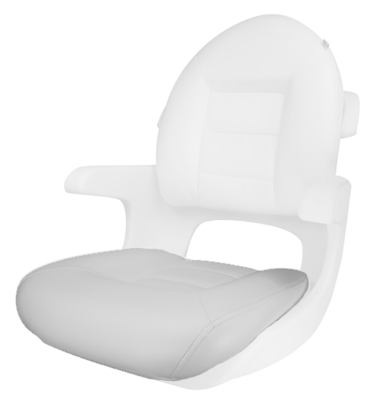 TEMPRESS Elite Helm Seat Bottom Cushion ONLY - White