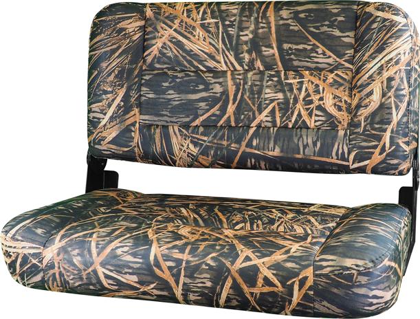 "31"" Folding Bench Seat - Mossy Oak Shadow Grass Vinyl"