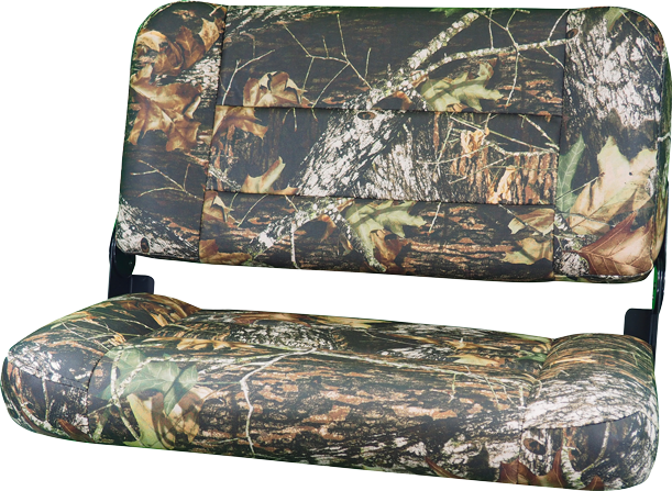 "31"" Folding Bench Seat - Mossy Oak Break-Up Vinyl"