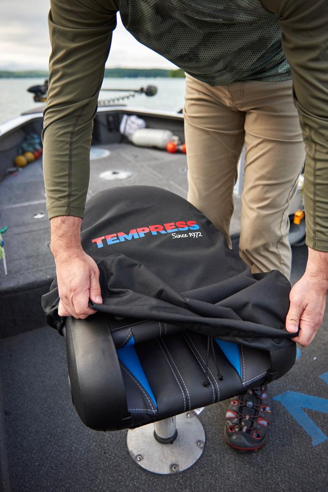 TEMPRESS Premium Boat Seat Cover - Black