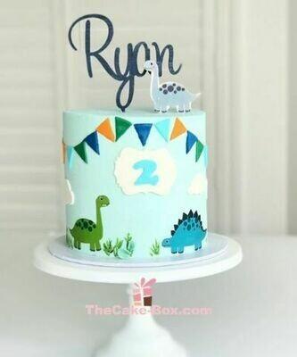 Dino Themed Cake