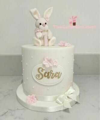 Little Bunny Themed Cake