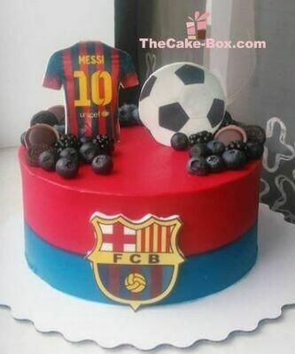 Hala Barcelona Cake