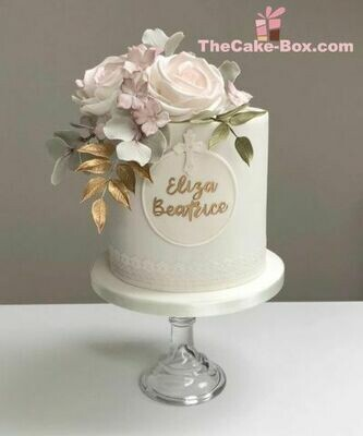 Rose Themed Cake For Her
