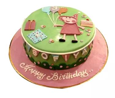 Peppa Pig Cake Kids Cake