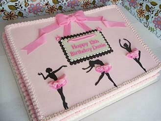 Sensational Ballerina Birthday Cake Thecake Box Com Personalised Birthday Cards Paralily Jamesorg