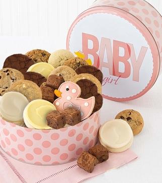 Welcome Baby Girl Gift Box