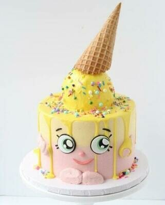 ICE CREAM CONE CAKE 2