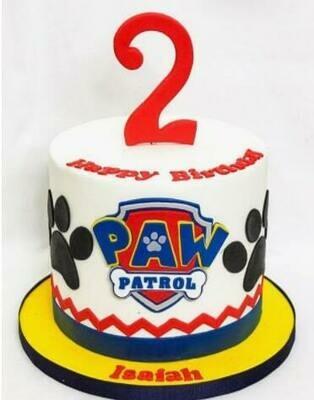 PATROL PAW CAKE