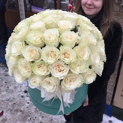 Коробка роз Мондиаль