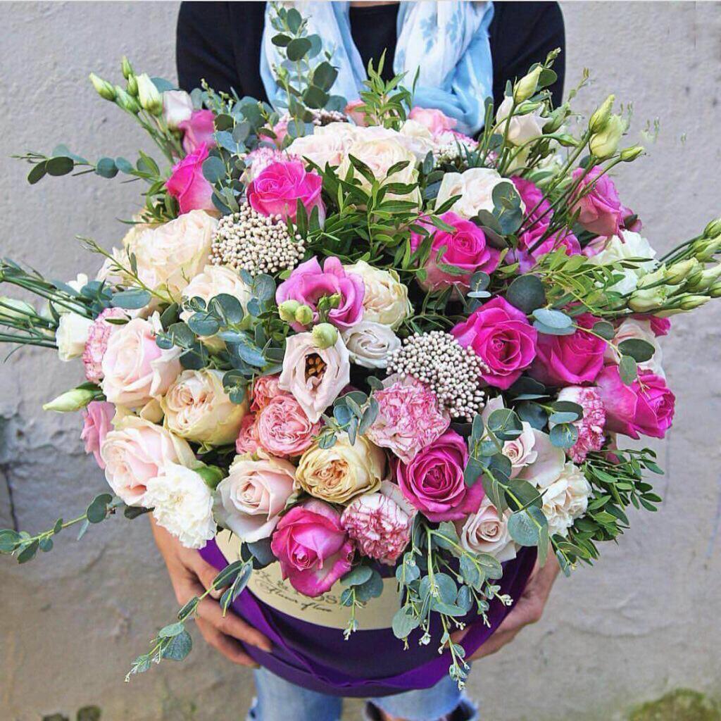 Коробка цветов Нюша