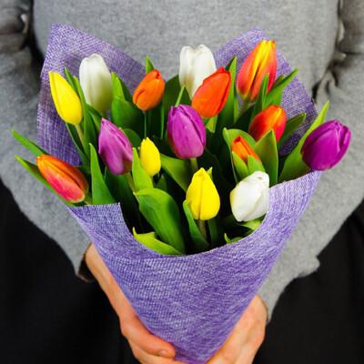 Тюльпаны Яркий микс