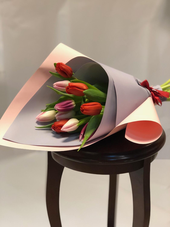 Хит продаж Тюльпаны в авторском оформление
