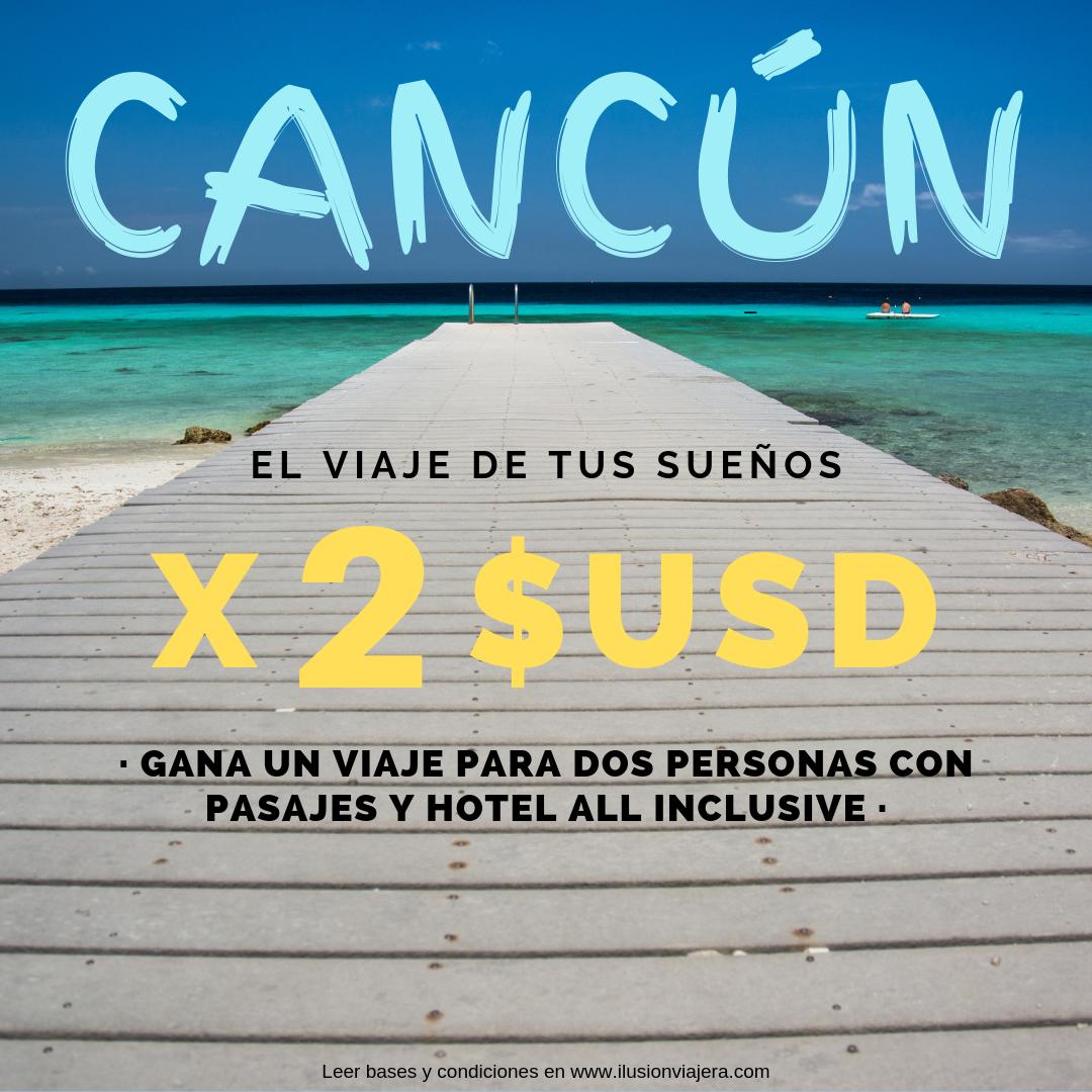1 Participación Sorteo Cancún