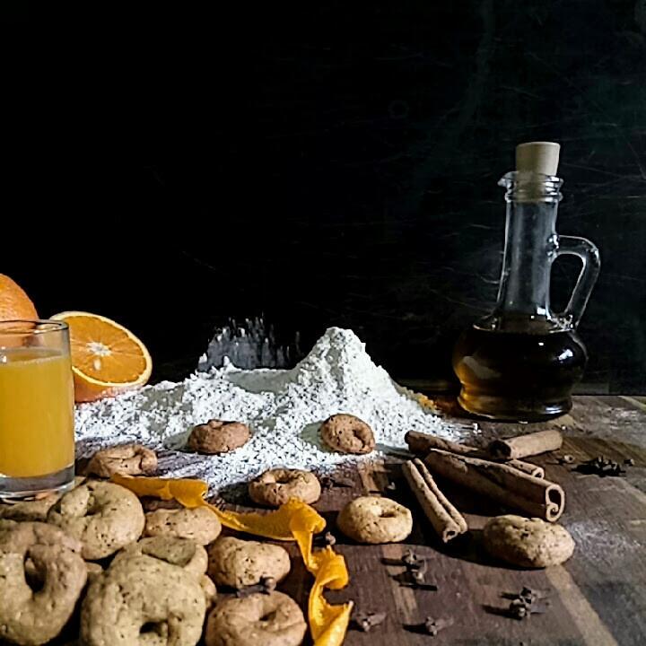 Печенье греческое.