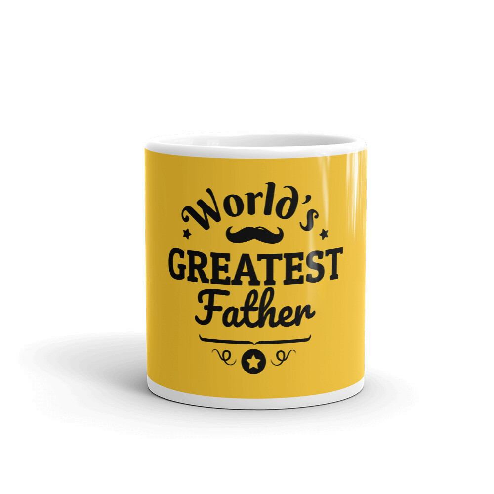 World Greatest Father Mug
