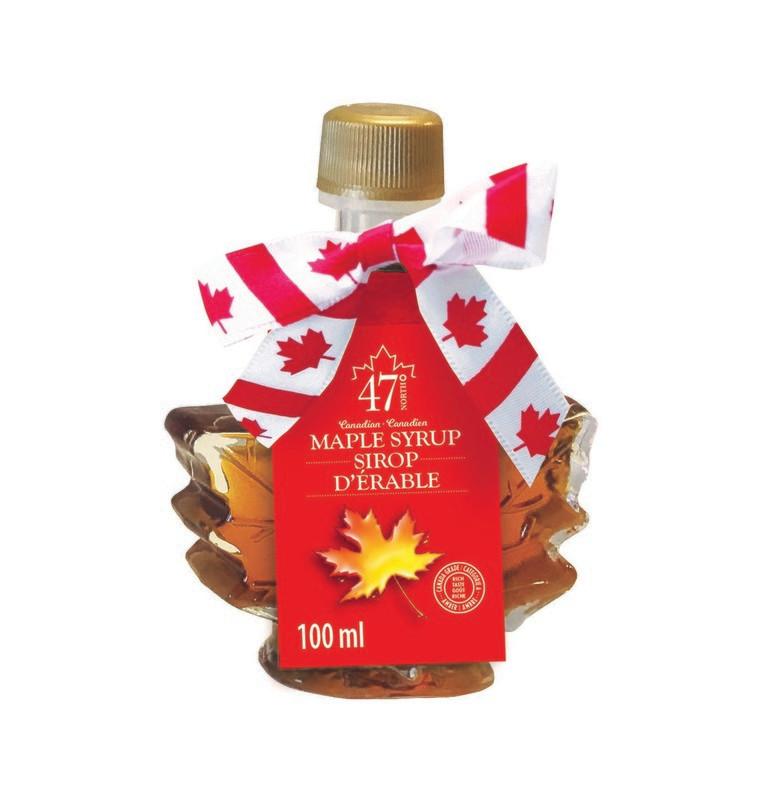 100ml Organic Maple Syrup Maple Leaf