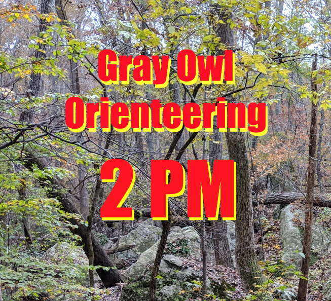 2 PM Gray Owl Orienteering April 18 RFVETJHR