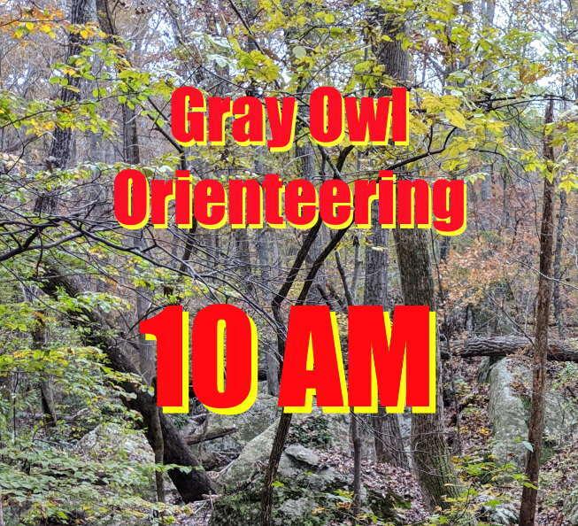 10AM Gray Owl Orienteering April 18 9TX8TTRF