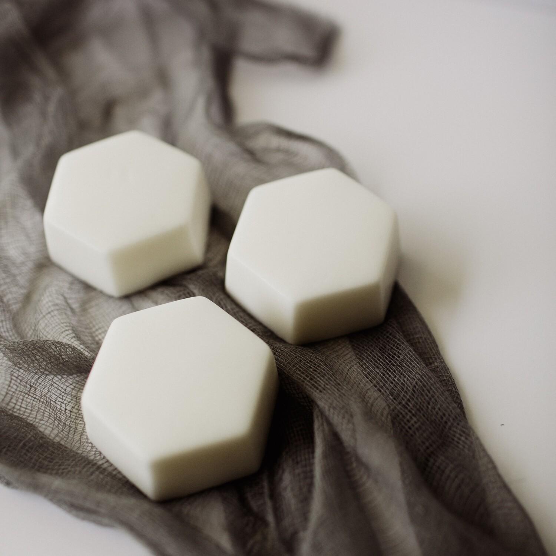 Hexagon Soap Calming Coconut