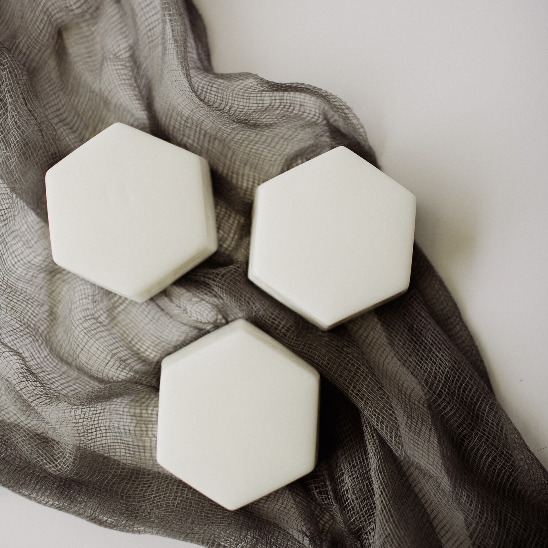 Hexagon Soap- White Tea + Ginger