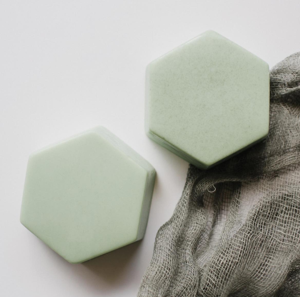 Hexagon Soap- Rosemary Mint