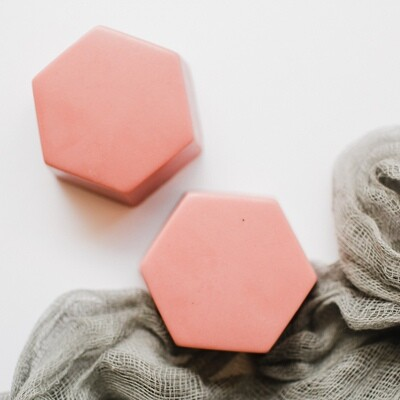 Hexagon Soap- Cinnamon Stick