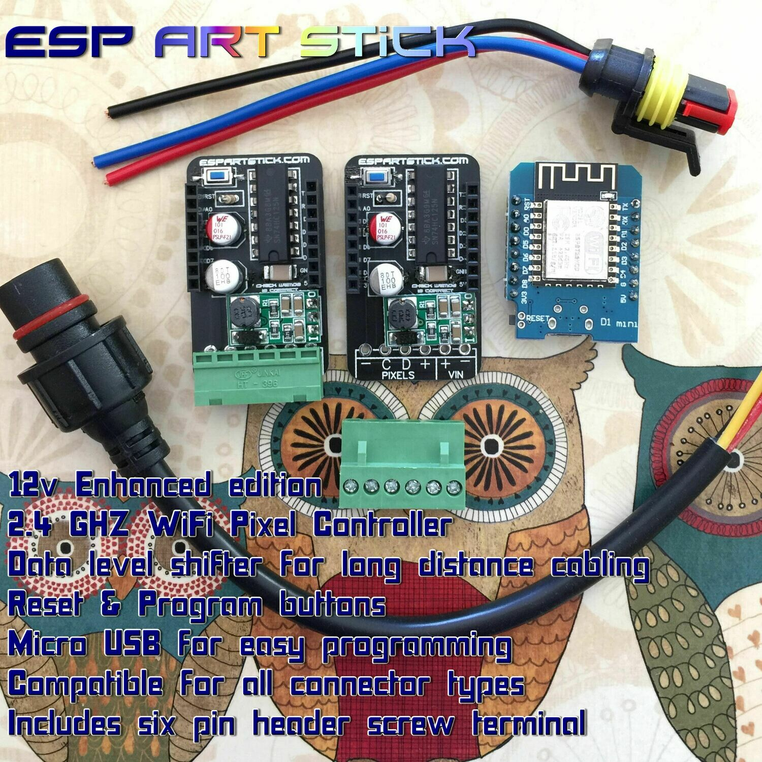ESP Art Stick 12v enhanced complete