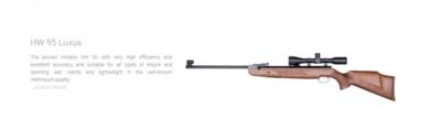 Weihrauch Air Rifles And Accessories