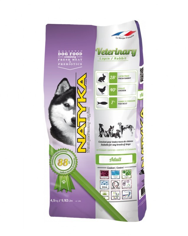 Корм Natyka® Veterinary Rabbit 0,4