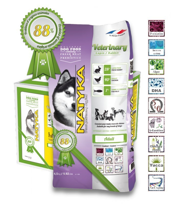 Корм Natyka Veterinary Rabbit 4.5 кг
