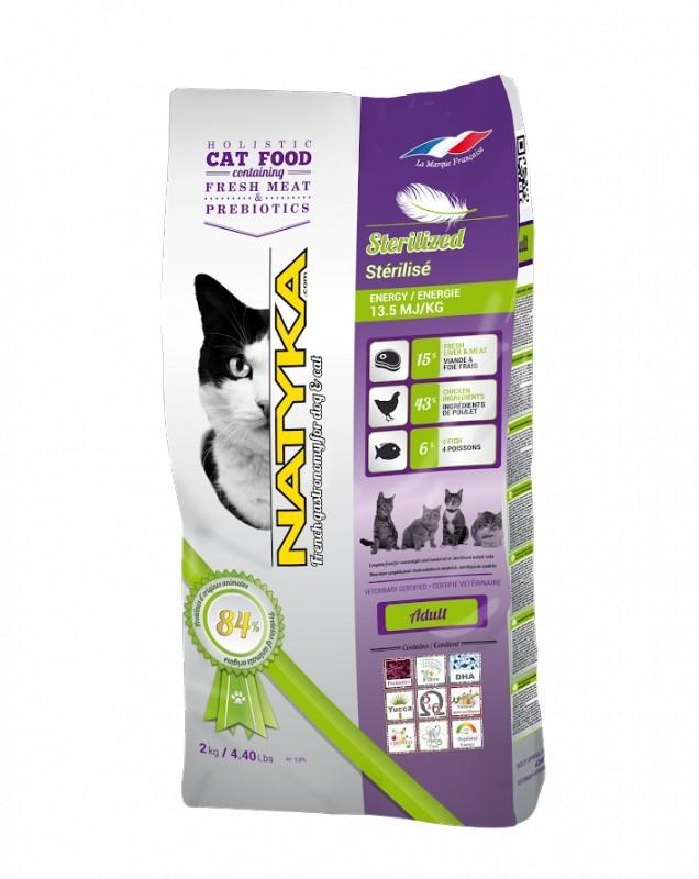 NATYKA CATS ADULT STERILIZED 12 kg