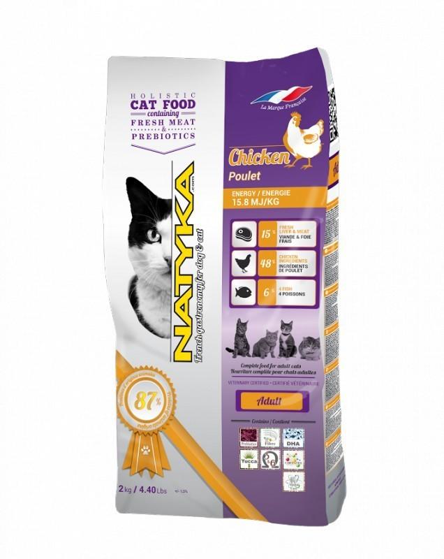 NATYKA CATS ADULT CHICKEN 0,4 kg
