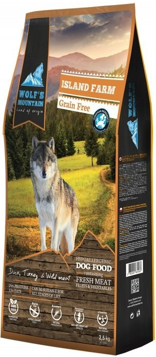 WOLF´S MOUNTAIN ISLAND FARM 0,4кг
