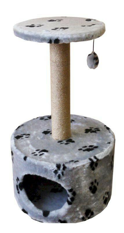 Комплекс Цилиндр с полкой мех с рисунком 42х42х72 см