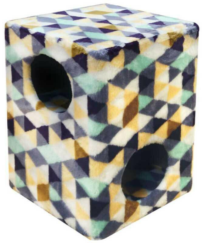 Комплекс Куб 2 уровня мех с рисунком