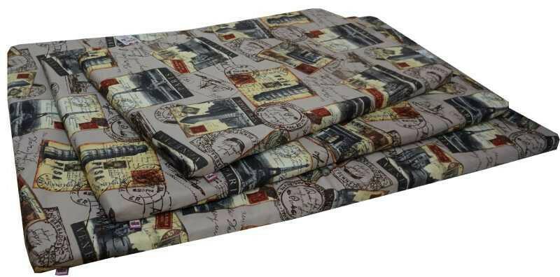 Цатрац со съемным чехлом мебельная ткань толщина 3 см