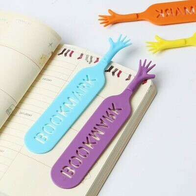 4 pcs Unique Cute Help Me Bookmark