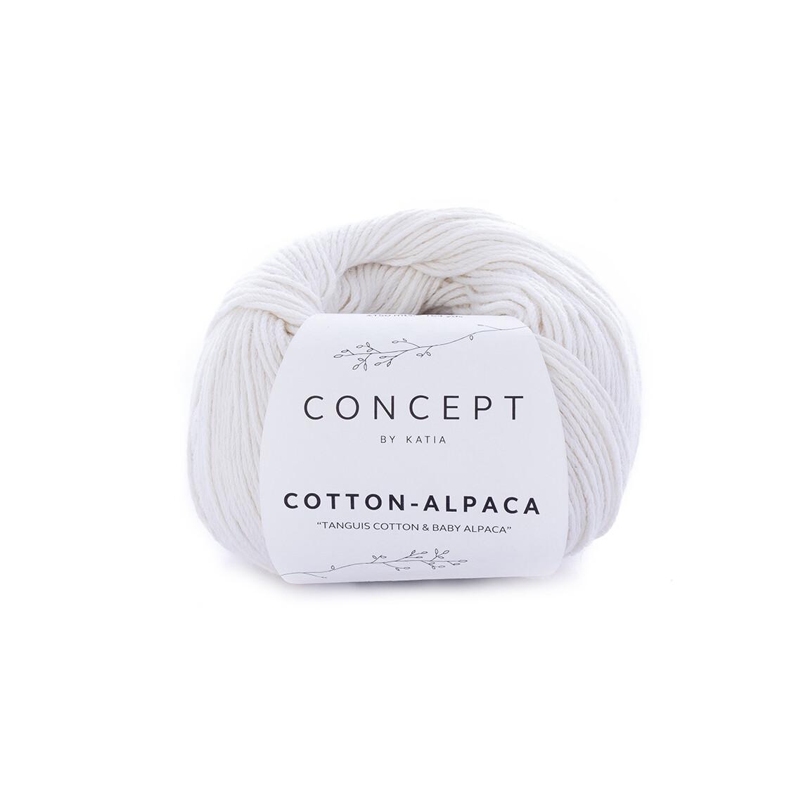 Katia Cotton Alpaca garen