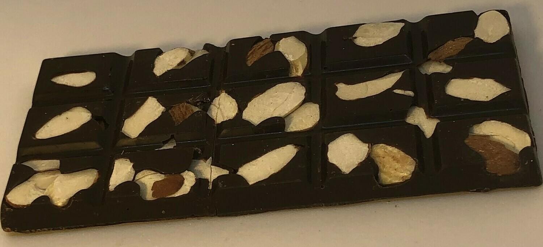 Dark Chocolate Sea Salt Almond Bar - 2 oz