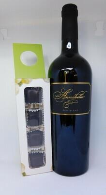 Wine and 4 chocolates