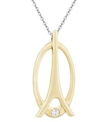 La Tour Eiffel—Yellow Gold, Diamond
