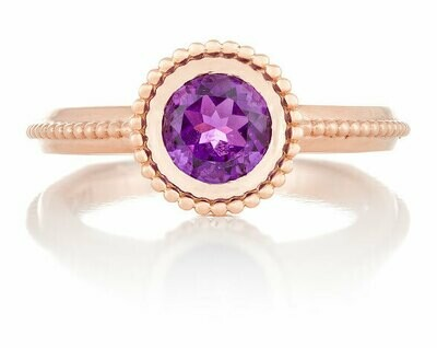 La Fontaine—Rose Gold/Amethyst