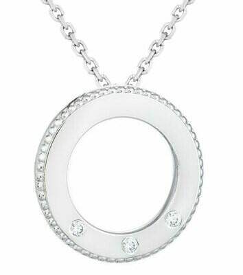 Famiglia—White Gold/Three Diamonds
